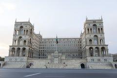 阿塞拜疆的政府房子在巴库,阿塞拜疆 免版税库存图片