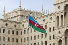 阿塞拜疆的政府房子在巴库,阿塞拜疆 免版税库存照片