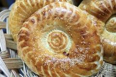 阿塞拜疆面包大面包 库存图片