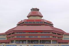 阿塞拜疆 秃头 以盖达尔・阿利耶夫命名国际机场 库存照片