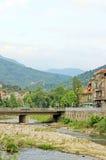 阿塞诺夫格勒镇在保加利亚 免版税图库摄影