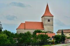 从阿夫里格的宣教会 免版税库存图片