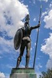 阿奇里斯雕象 免版税库存图片