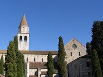阿奎莱亚大教堂-意大利 免版税图库摄影