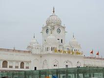 阿姆利则金黄印度日落寺庙 免版税图库摄影