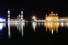 阿姆利则金黄印度旁遮普邦寺庙 免版税图库摄影