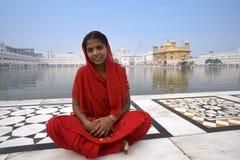 阿姆利则-印度的金黄寺庙 免版税图库摄影