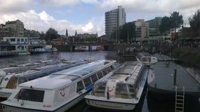 阿姆斯特丹中央 库存图片