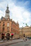 阿姆斯特丹优秀大学毕业生广场 库存图片