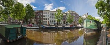 阿姆斯特丹反射,荷兰 图库摄影