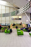 阿姆斯特丹史基浦机场 图库摄影