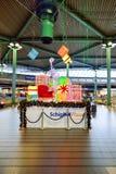 阿姆斯特丹史基浦机场 免版税库存照片