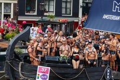 阿姆斯特丹同性恋自豪日2014年 免版税图库摄影