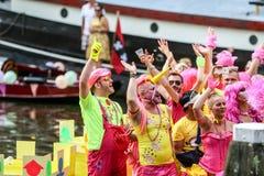 阿姆斯特丹同性恋自豪日2015年 免版税库存照片