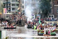 阿姆斯特丹同性恋自豪日2015年 免版税图库摄影