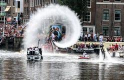 阿姆斯特丹同性恋自豪日2015年 图库摄影