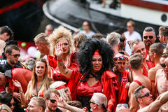 阿姆斯特丹同性恋自豪日2015年 库存照片