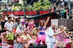 阿姆斯特丹同性恋自豪日2015年 免版税库存图片