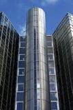 阿姆斯特丹大厦玻璃办公室 免版税库存图片