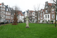阿姆斯特丹大厦 免版税图库摄影