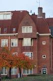 阿姆斯特丹学校门面 库存照片