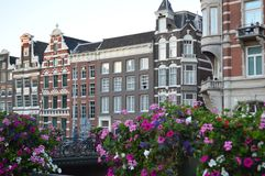 阿姆斯特丹房子 免版税库存图片