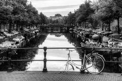 阿姆斯特丹打破的自行车 图库摄影