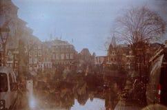 阿姆斯特丹拼贴画 库存图片