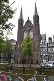 阿姆斯特丹教会 免版税图库摄影