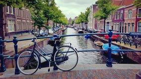 阿姆斯特丹桥梁 库存照片