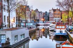 阿姆斯特丹概要 免版税库存照片
