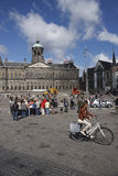 阿姆斯特丹水坝正方形 免版税库存照片
