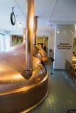 阿姆斯特丹海涅肯啤酒博物馆 免版税库存照片