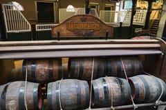 阿姆斯特丹海涅肯啤酒博物馆 库存图片