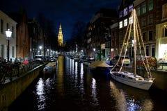 阿姆斯特丹渠道 免版税库存照片
