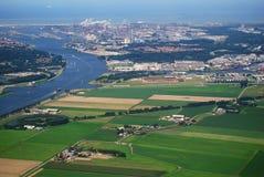 阿姆斯特丹港口 免版税库存图片