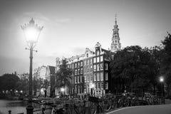 阿姆斯特丹灯笼光 免版税库存图片