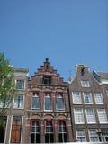 阿姆斯特丹特写镜头房子 图库摄影