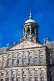 阿姆斯特丹王宫的细节  免版税库存图片