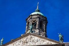 阿姆斯特丹王宫的细节  库存图片