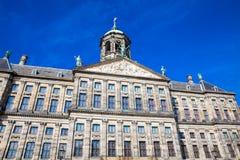 阿姆斯特丹王宫的细节  免版税图库摄影