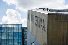 阿姆斯特丹的体育上升的中心 免版税库存图片
