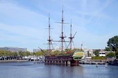 阿姆斯特丹的复制品 库存照片