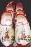 阿姆斯特丹穿上鞋子木 免版税库存图片