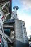 阿姆斯特丹竞技场体育场,最大的体育场在荷兰 AFC的阿贾克斯和荷兰国家队家庭体育场 图库摄影