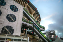阿姆斯特丹竞技场体育场,最大的体育场在荷兰 AFC的阿贾克斯和荷兰国家队家庭体育场 库存图片