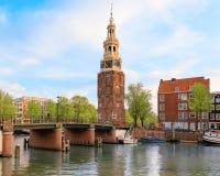 阿姆斯特丹老镇 图库摄影