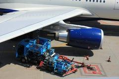 阿姆斯特丹荷兰-第13 2016年:N823NW达美航空林 免版税库存照片