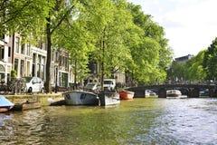 阿姆斯特丹荷兰 图库摄影
