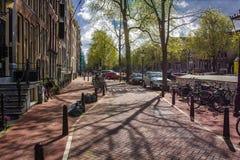阿姆斯特丹街道 库存照片